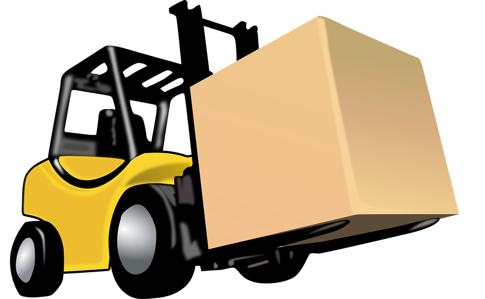 Free photo industrial transportation. Forklift clipart forklift driver