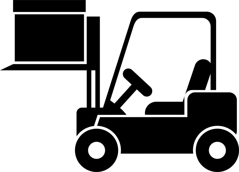 Forklift svg