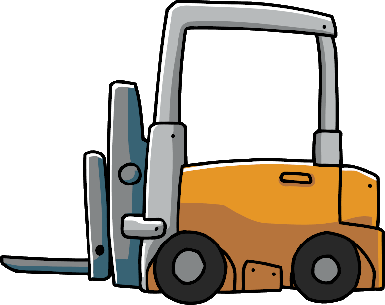 Scribblenauts wiki fandom powered. Forklift clipart top view