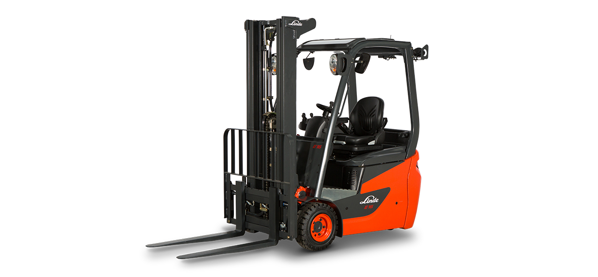 Forklift clipart top view. New sales linde series