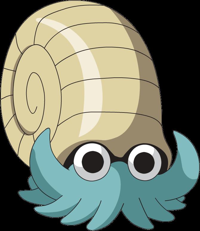 Image omanyte ag anime. Fossil clipart invertebrate