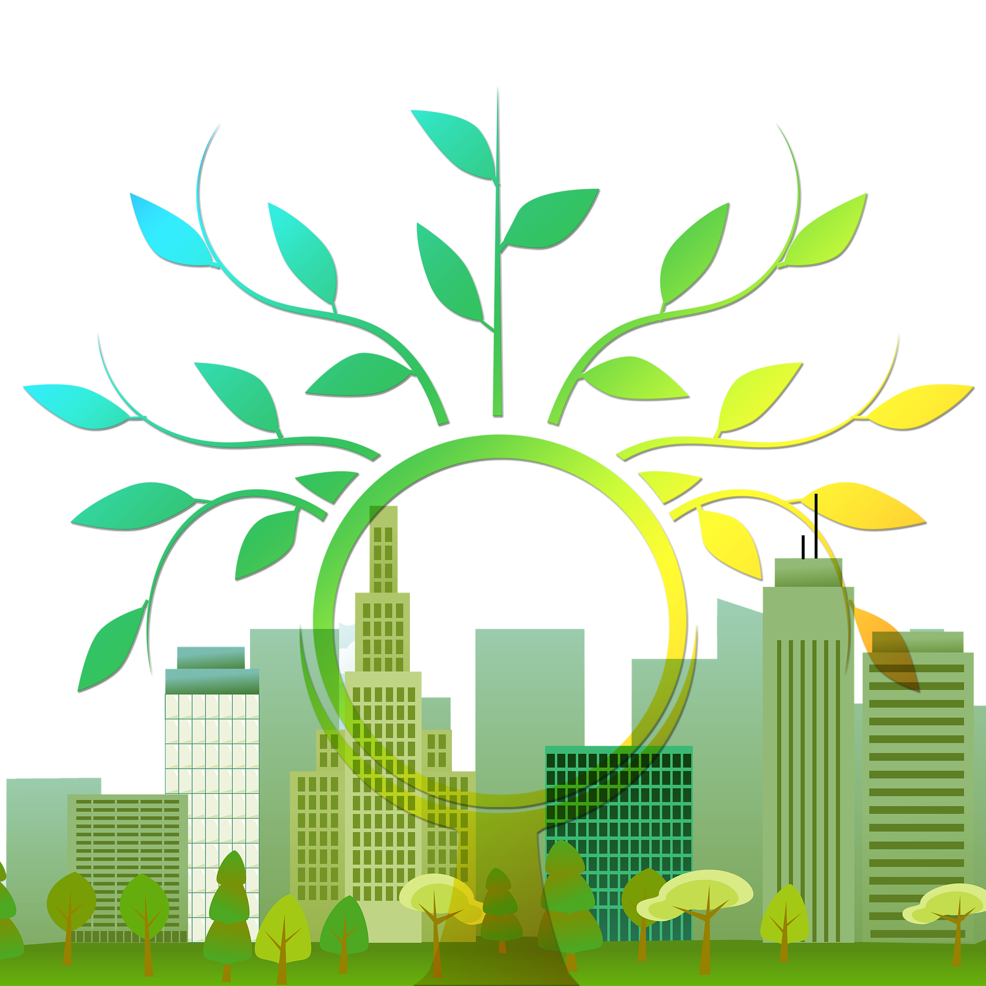 Renewable energy will be. Fossil clipart leaf