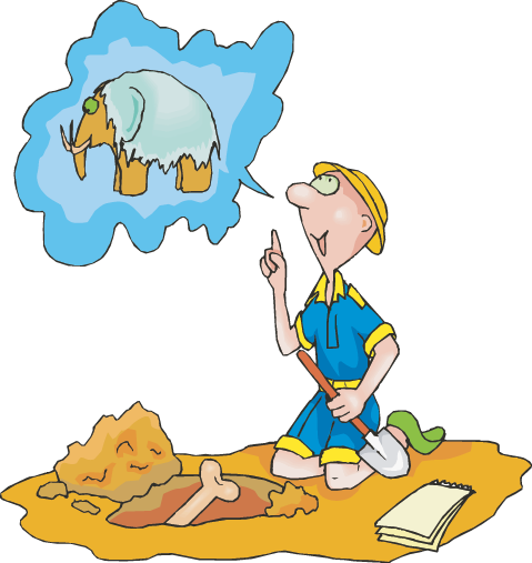 Paleontologist free download best. Geology clipart fossil dig