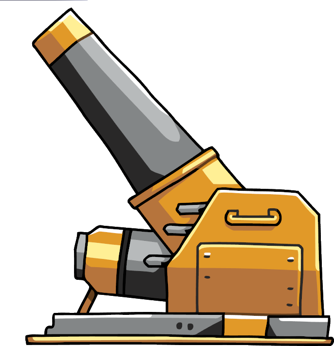 Joker clipart gag gun. Category interactive objects scribblenauts