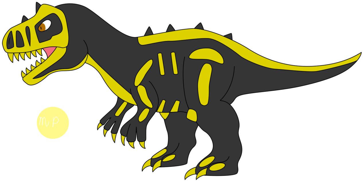 Fighters frontier f raptor. Fossil clipart t rex fossil