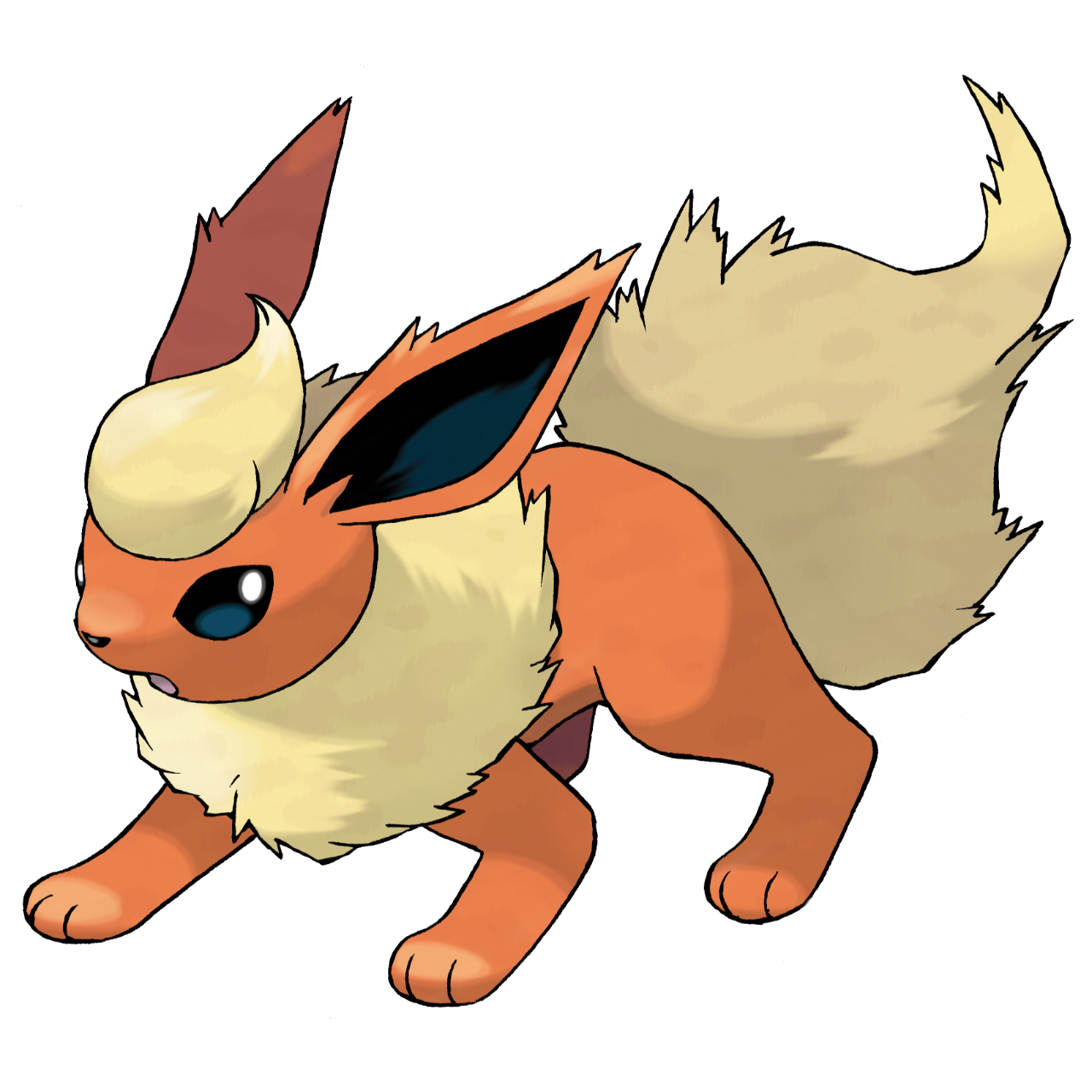 Pokemon clipart eeveelutions. Flareon the false prophet