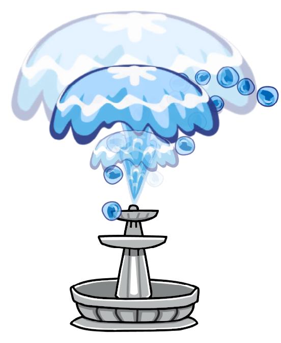 Scribblenauts wiki fandom powered. Fountain clipart blue water
