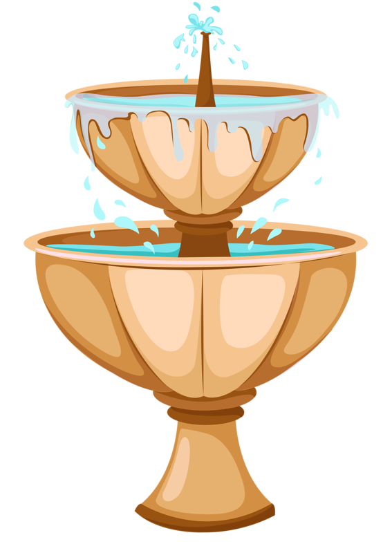 Fountain clipart blue water.  png fountains clip