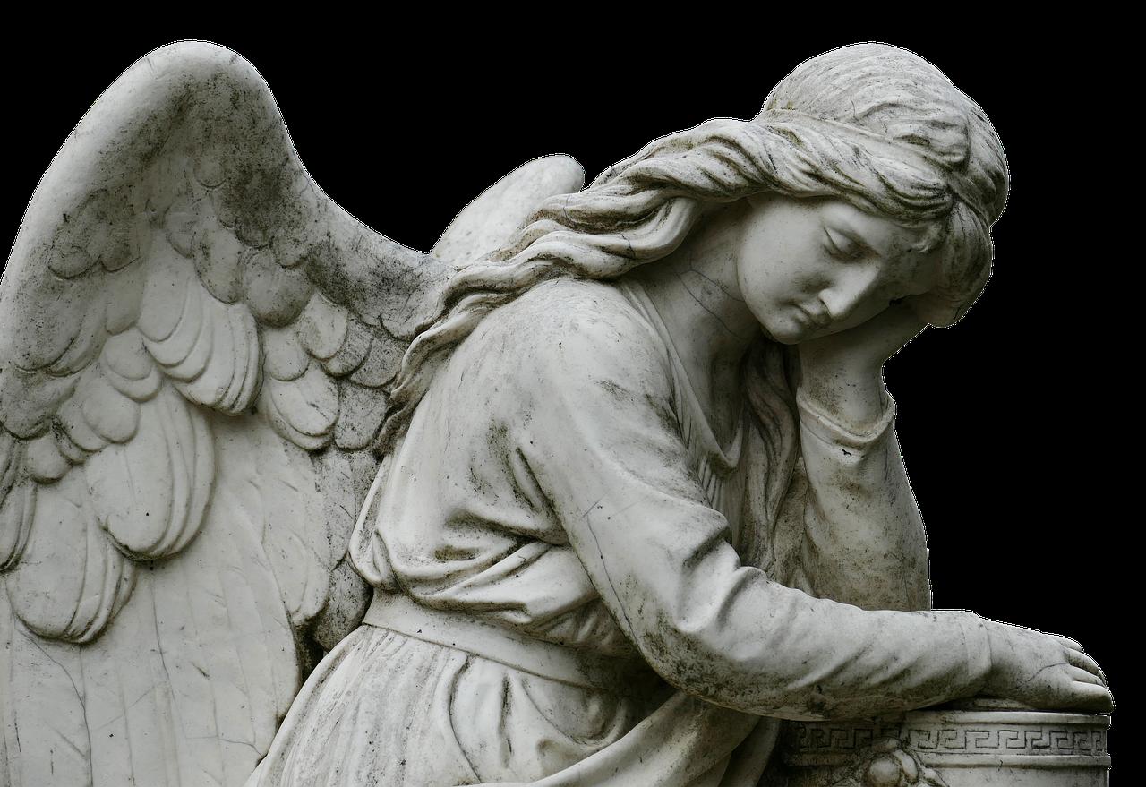 Free image on pixabay. Headstone clipart man angel