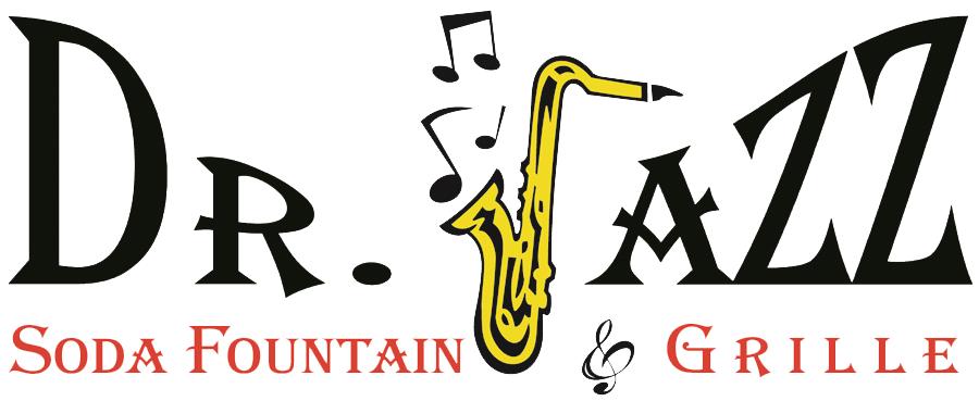 Dr soda fountain and. Jazz clipart logo