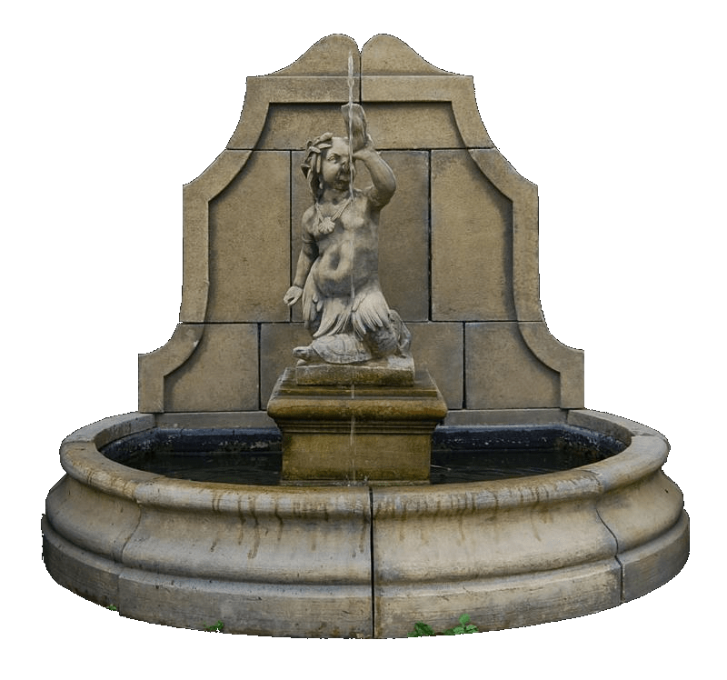 Water clipart fountain. Transparent png stickpng