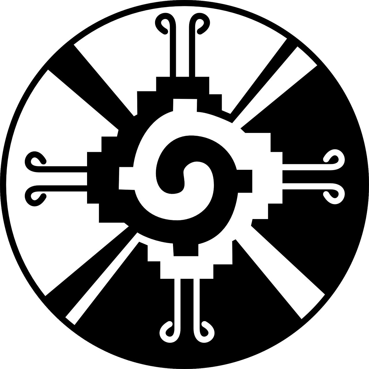 Fox clipart aztec. Free image on pixabay
