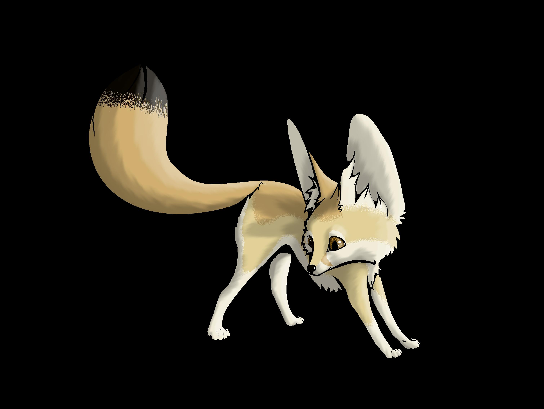 Fox clipart desert fox. Pin by ana le