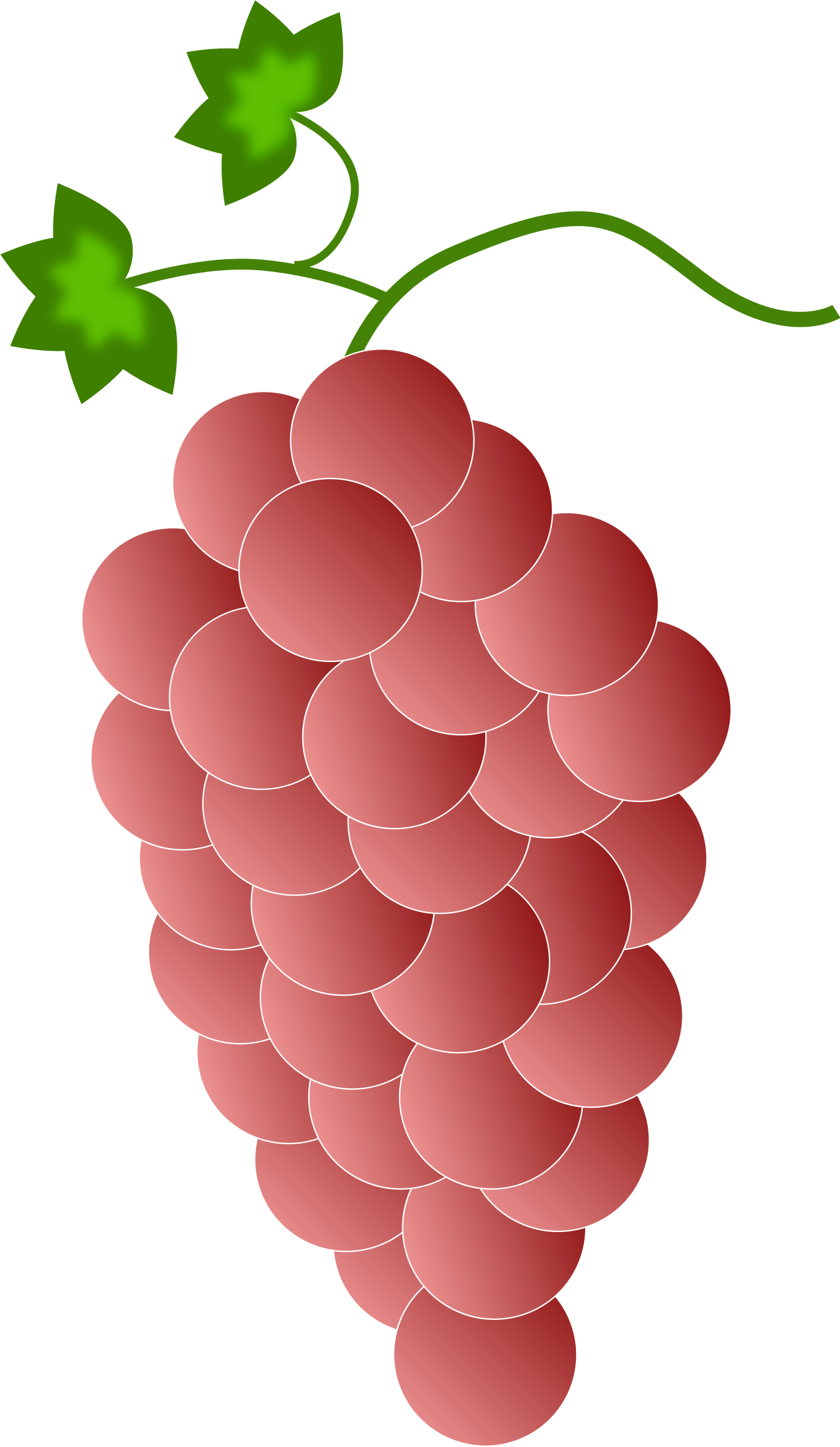 Grapes clipart line art.  collection of red