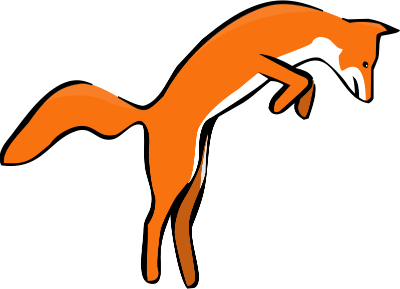 Nice words free download. Fox clipart graphic