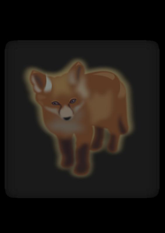 The said what pinterest. Fox clipart gray fox