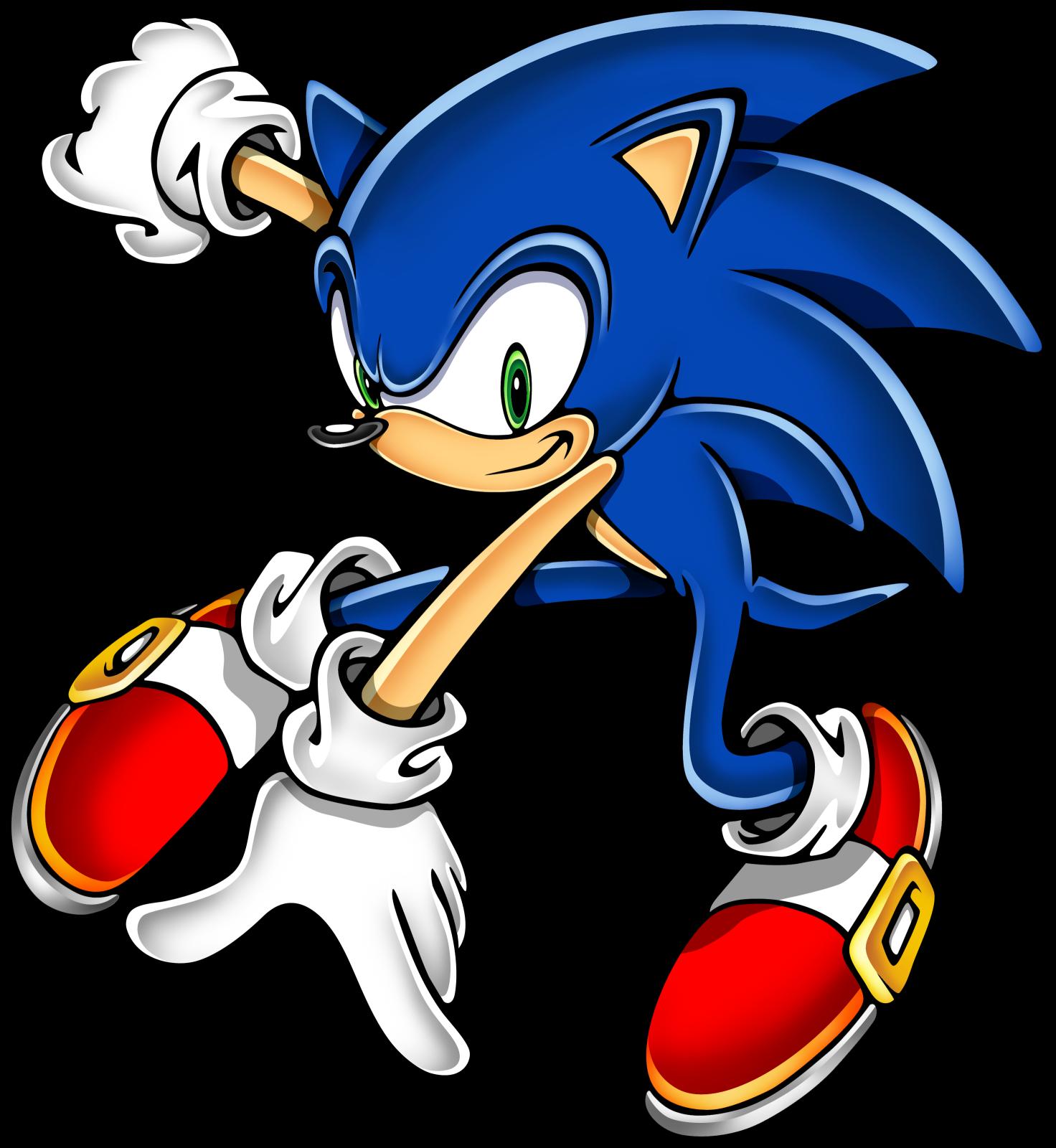 Fox clipart hedgehog. Sonic art assets dvd