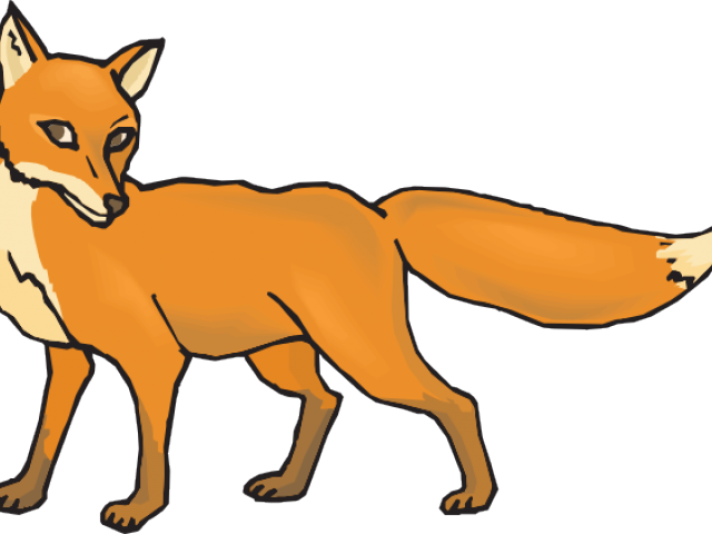 Hungry cliparts free download. Fox clipart outline