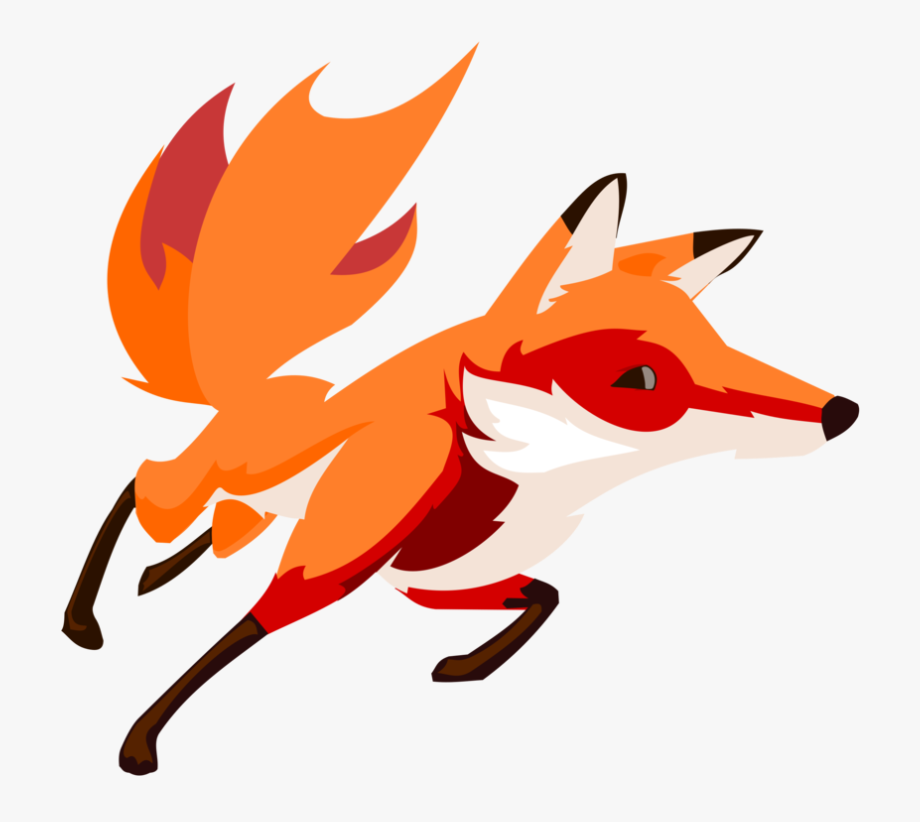 Clipartfest png free . Fox clipart running