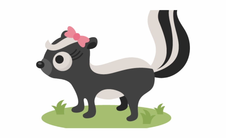 Woodland clipart skunk. Pictures free for