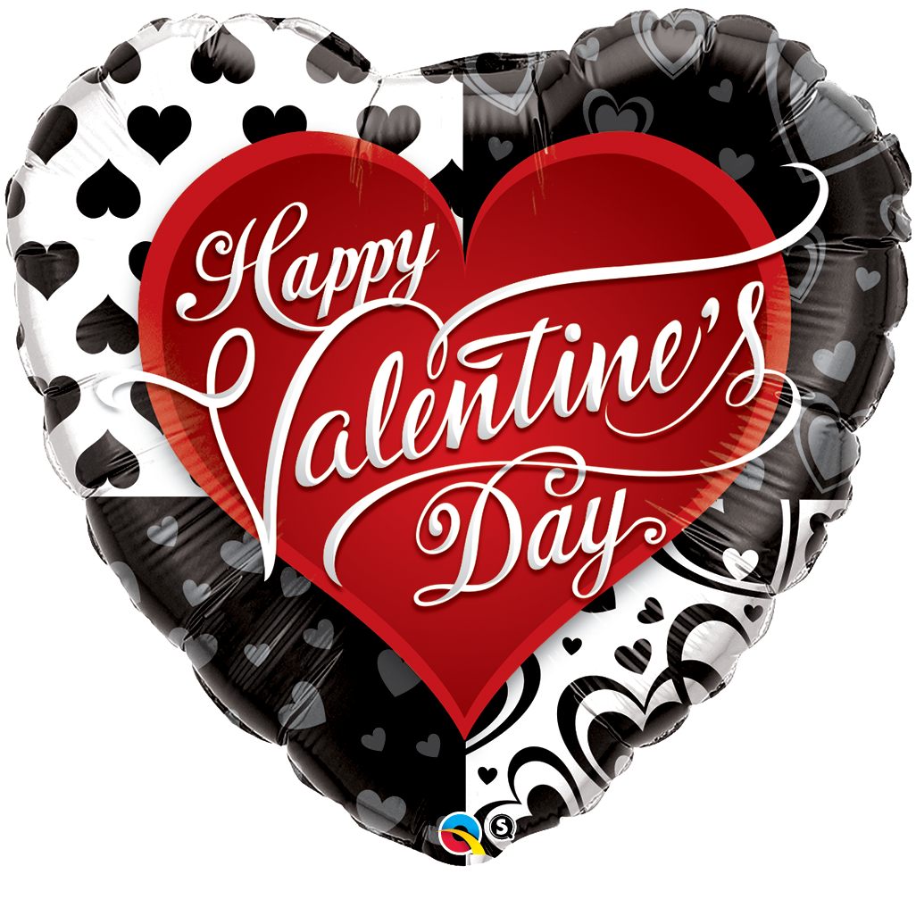Fox clipart valentines day.  heart foil valentine