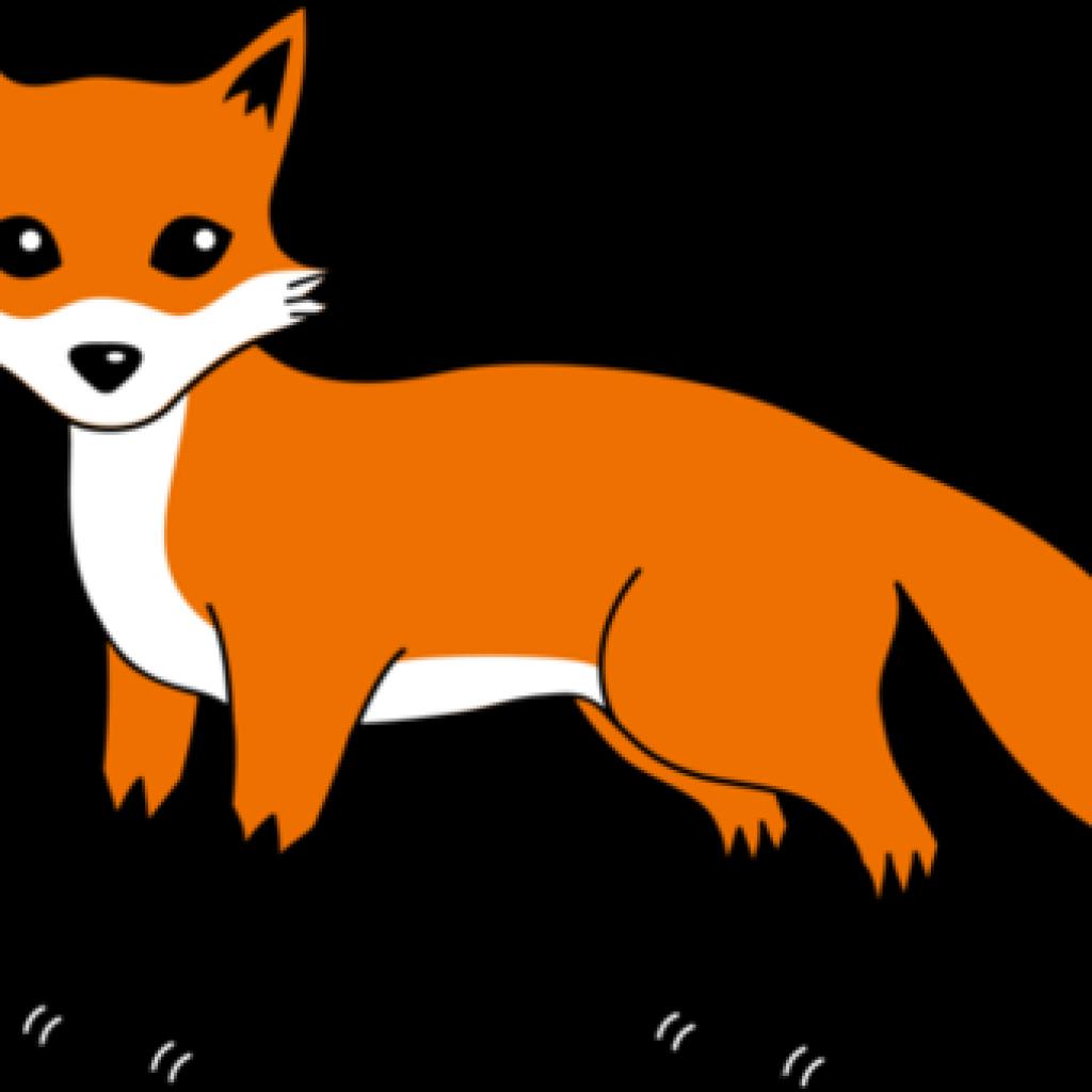 Fox clipart watercolor. Pencil hatenylo com free