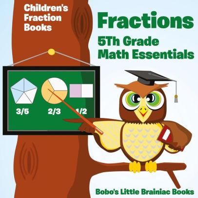 Fractions th essentials children. Fraction clipart 5th grade math
