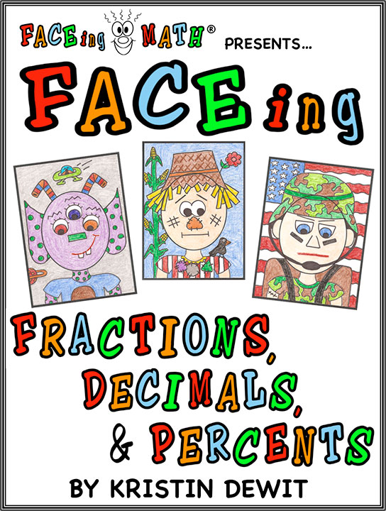 Faceing decimals and percents. Fractions clipart 5th grade math