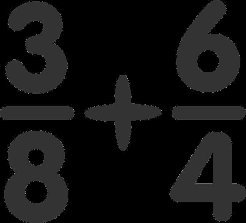Fraction clipart 5th grade math. Mina s blog category