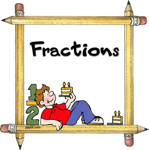 Fractions clipart cartoon. Free fraction cliparts download