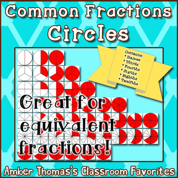 Circles commercial use . Fraction clipart common
