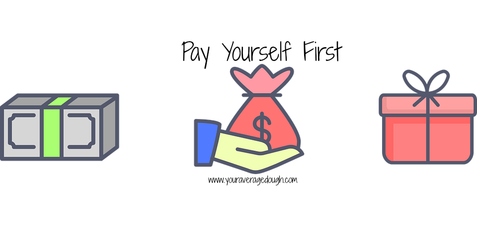 Pay yourself first your. Fraction clipart coverage