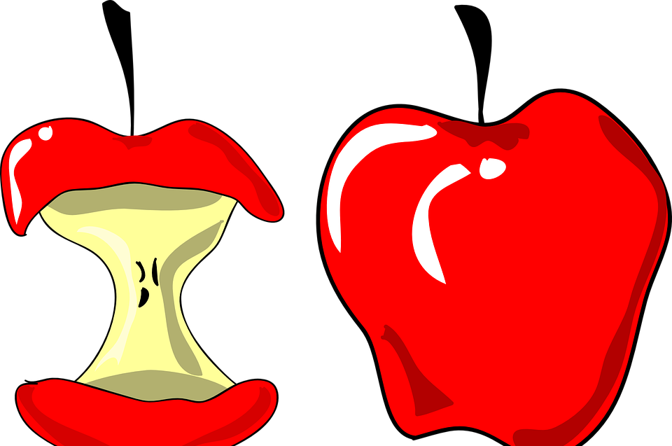 Recipe math raw apple. Fraction clipart everyday use
