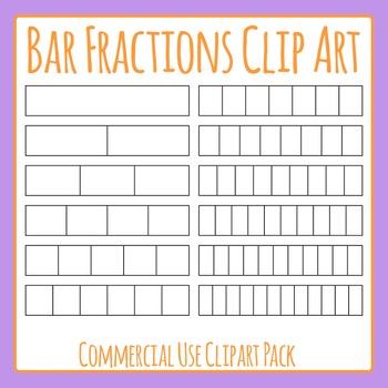 Or strip clip art. Fractions clipart fraction bar