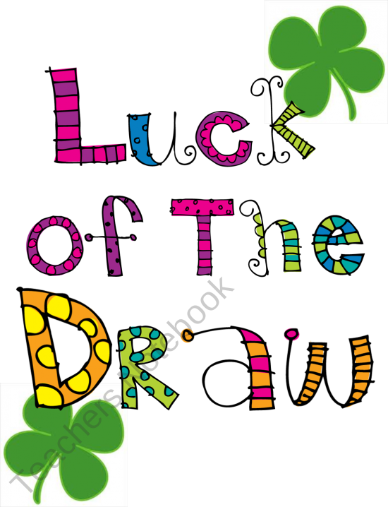 Luck of the draw. Fraction clipart fraction decimal