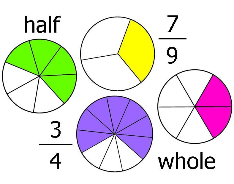 Free download best on. Fraction clipart fraction model