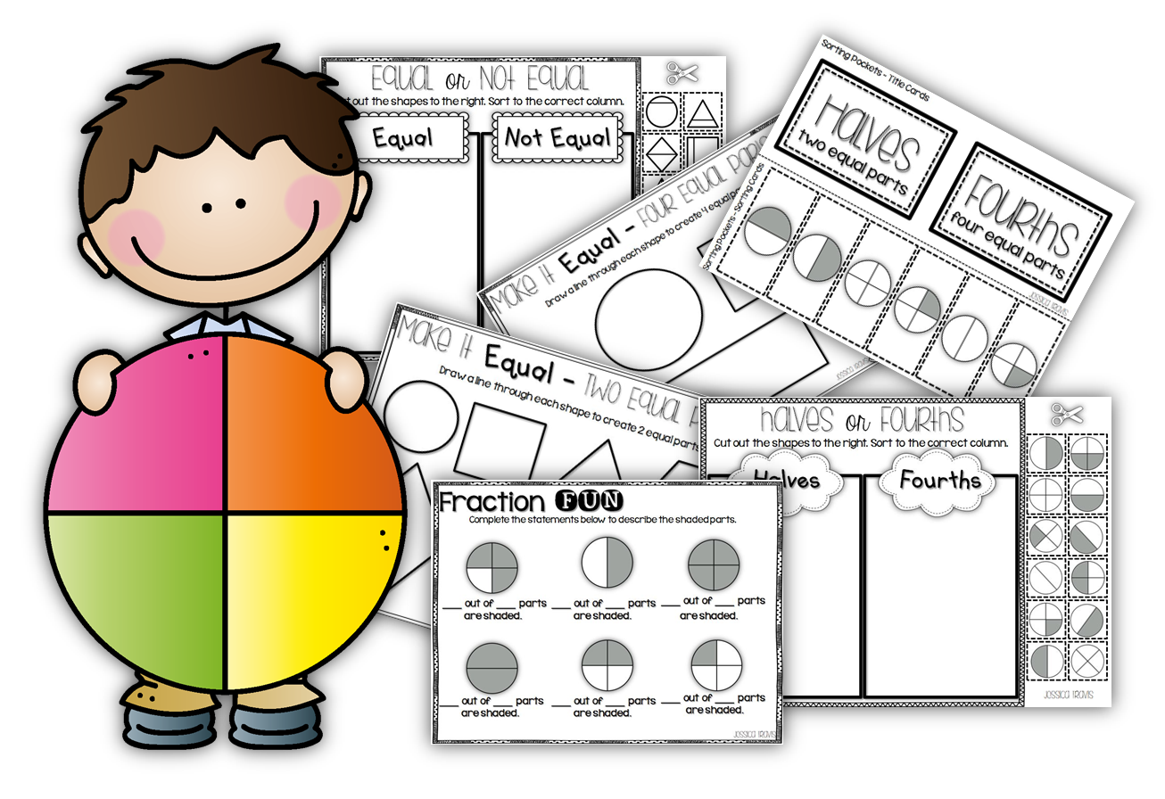 Fractions clipart fun fraction. With mathematics master basic