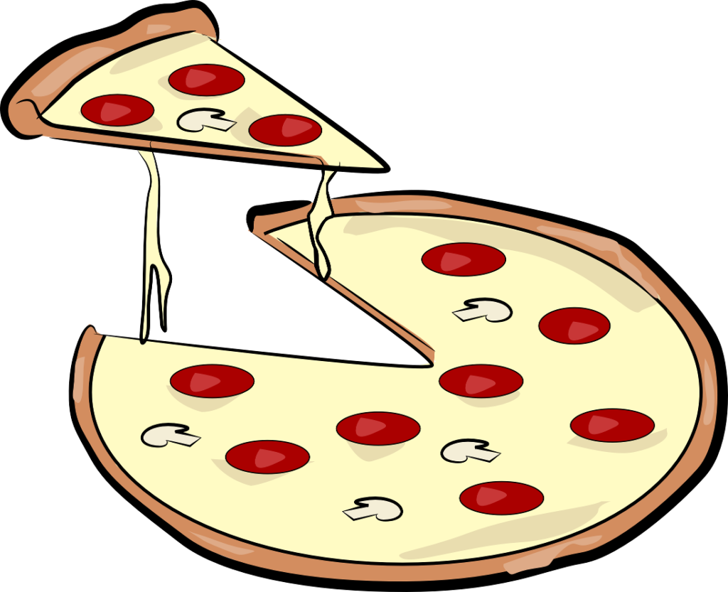 Download food images free. Fractions clipart pizza crust