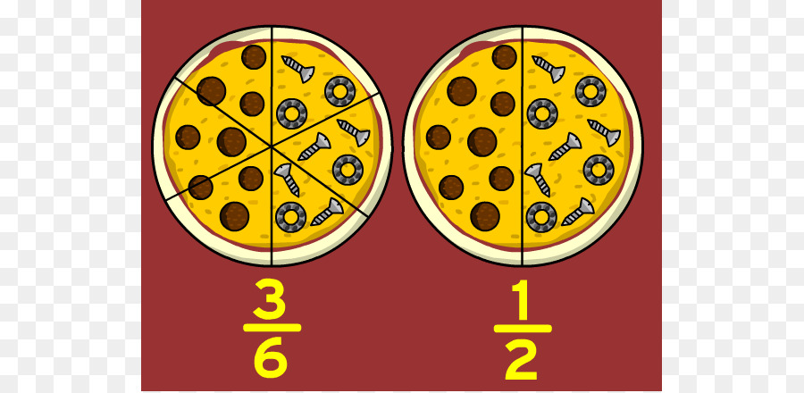 Fractions clipart half time. Circle png download free