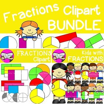 Fractions for kids worksheets. Fraction clipart kid