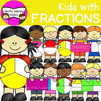 Fraction clipart kid. Fractions for kids worksheets