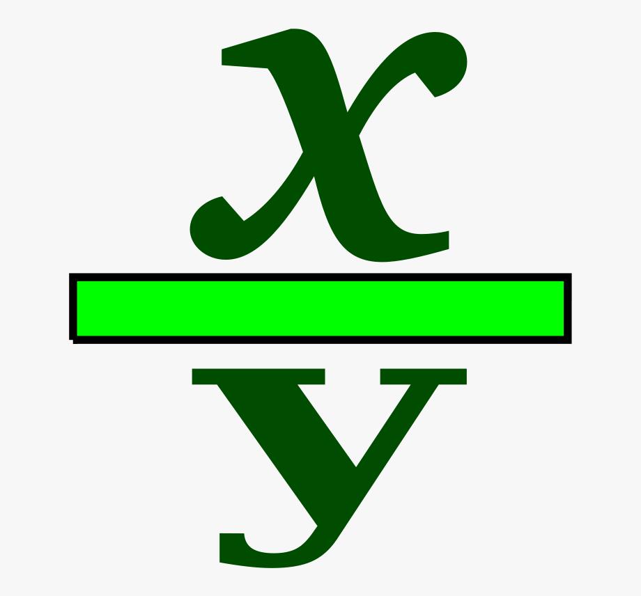 Fractions clipart math symbol. Fraction clip art symbols