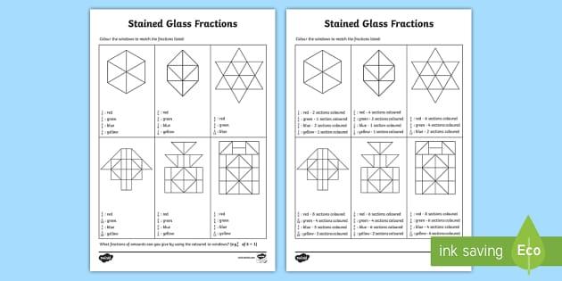 What is a non. Fractions clipart unit fraction
