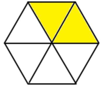 Fractions clipart pentagon. Fraction clip art