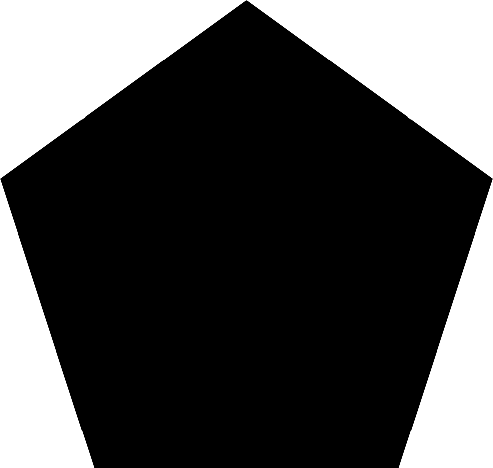 Svg png icon free. Fractions clipart pentagon