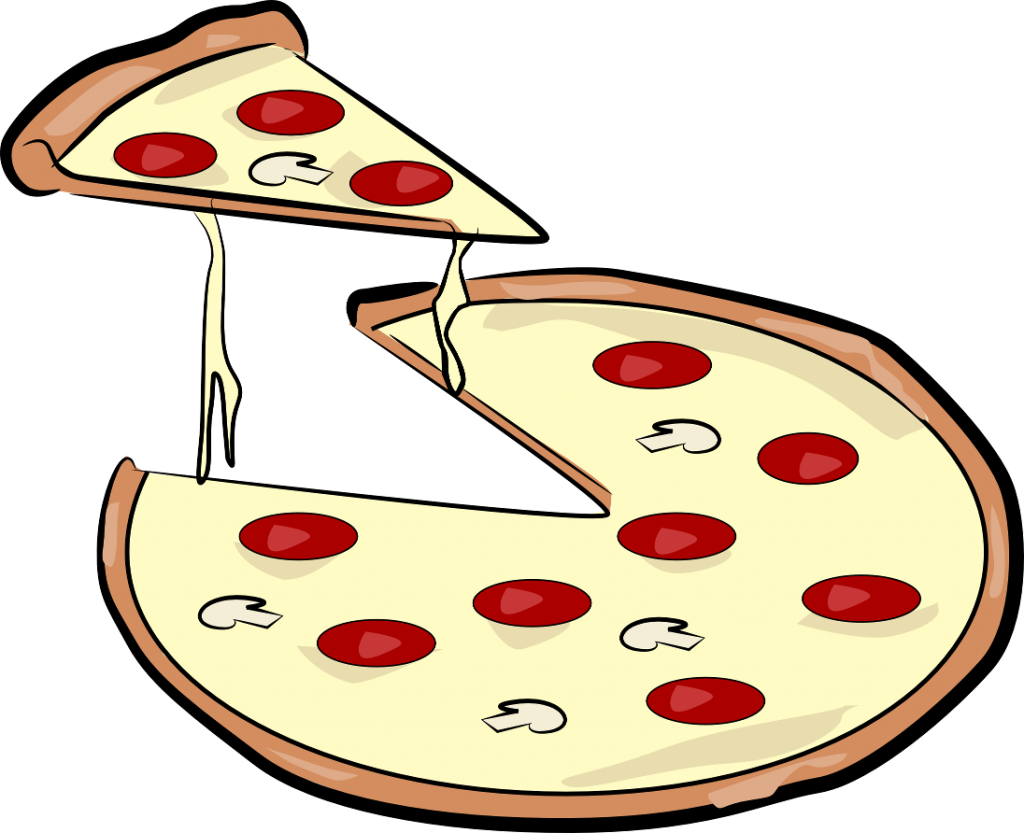 Fraction clipart pizza. Pepperoni group free download
