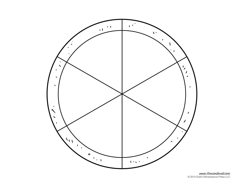 Fractions clipart pizza craft. Pinterest