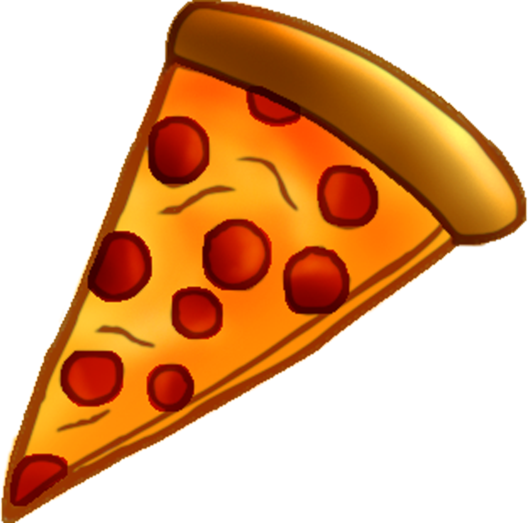 collection of transparent. Fractions clipart pizza slice