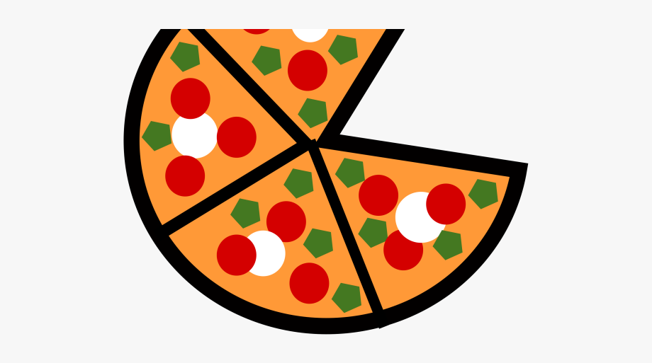 Cute free . Fractions clipart pizza slice