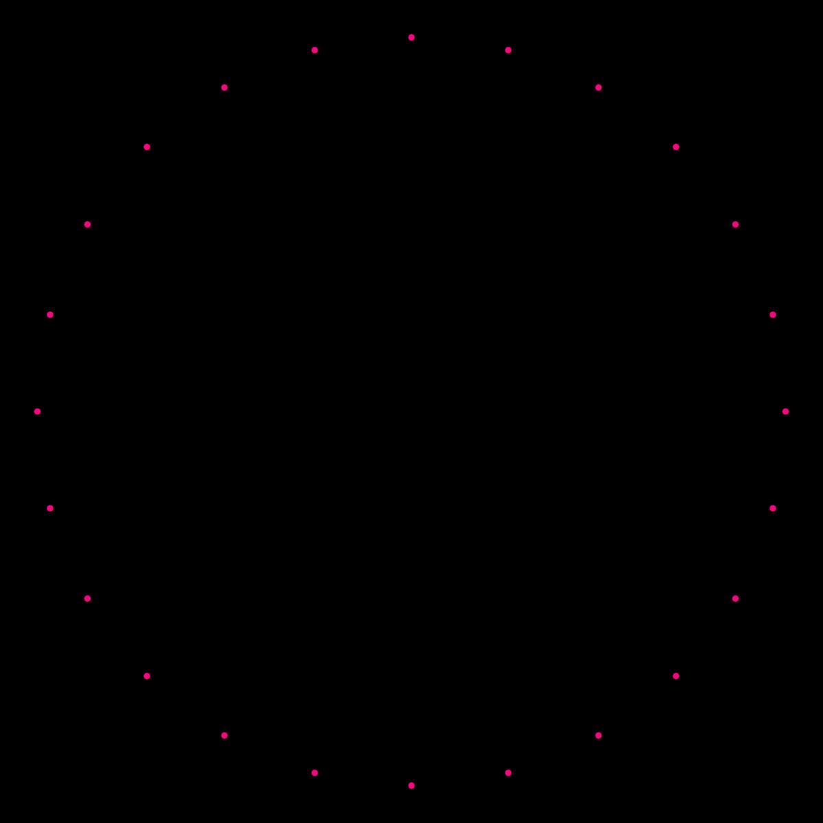 Fraction clipart polygon. Icositetragon wikipedia